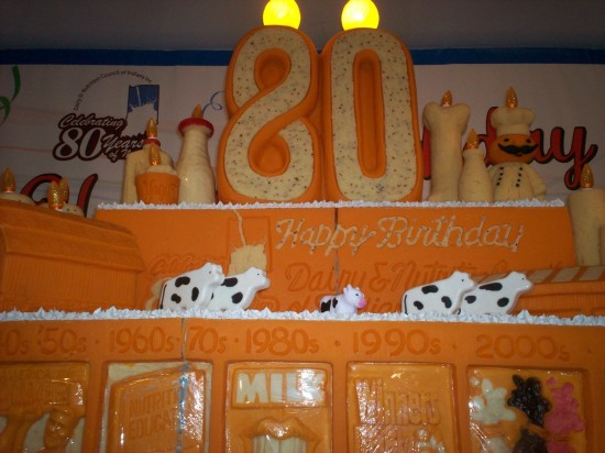 Cheese Sculpture 80th!