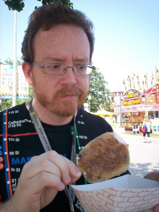 Deep-Fried Klondike Bar!
