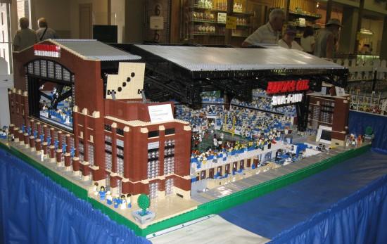 Lego Lucas Oil Stadium rear!