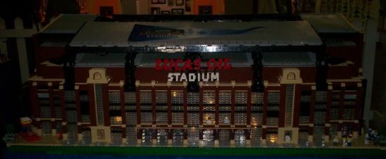 Lego Lucas Oil Stadium!