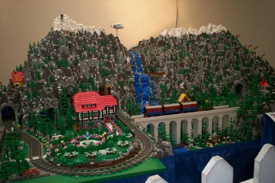 Lego Mountains!