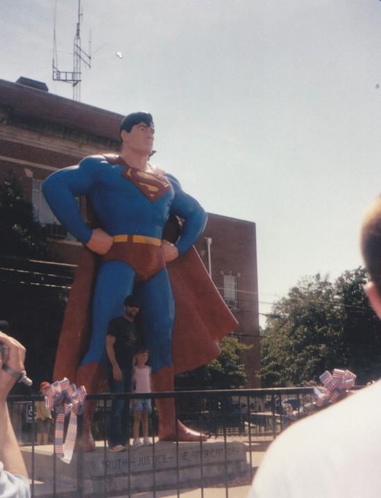 Rosenbaum + Superman!
