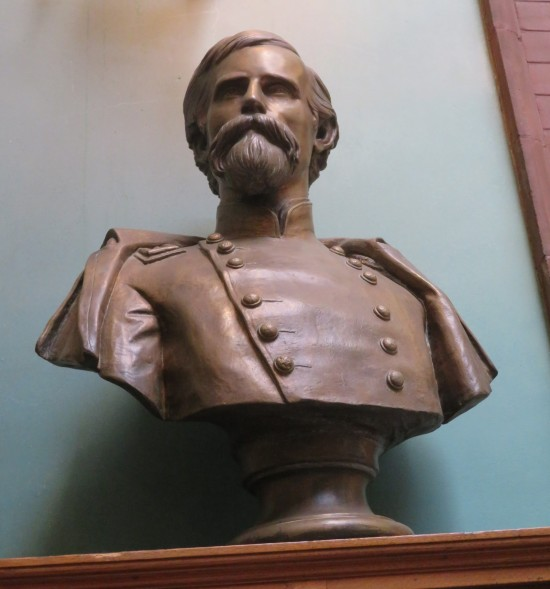 Lew Wallace bust!