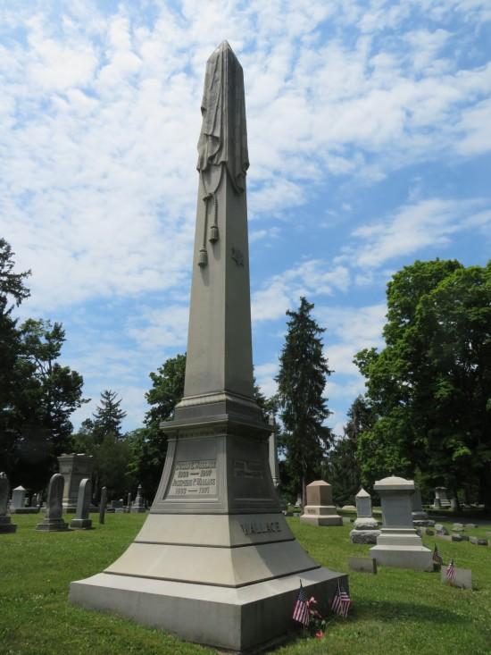 Lew Wallace grave!