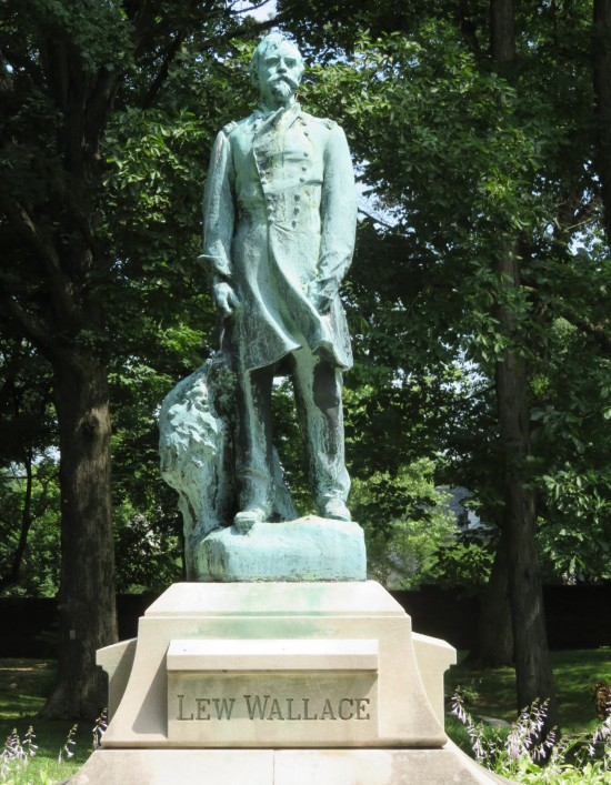 Lew Wallace statue!