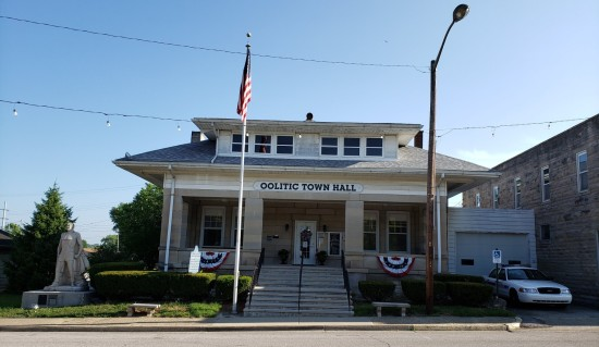 Oolitic Town Hall!