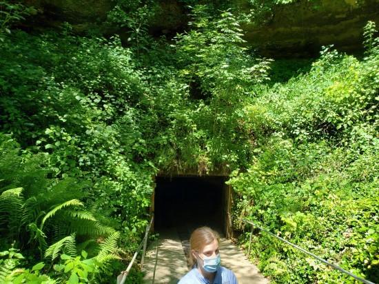 cave entrance!