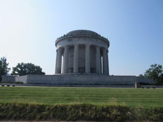 Clark Memorial from Wabash!