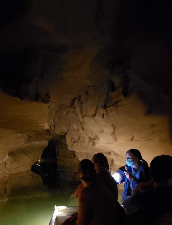 deep cave ahead!