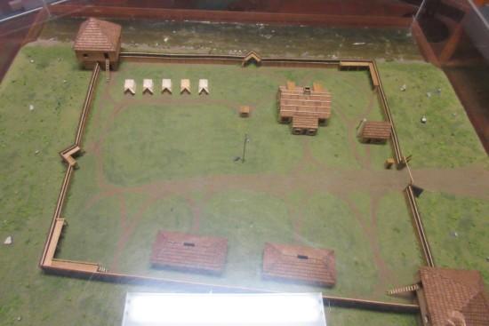 Fort Sackville diorama!