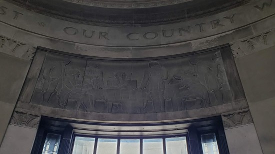 Founding Fathers frieze!