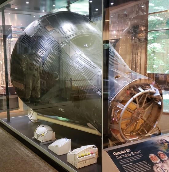 Gemini III capsule!