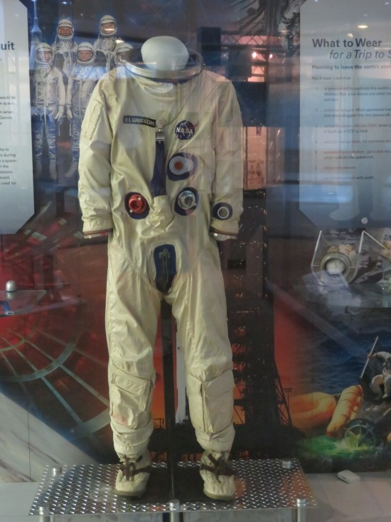 Gemini III space suit!