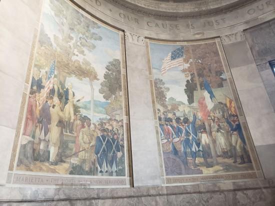 murals 15-star flag!