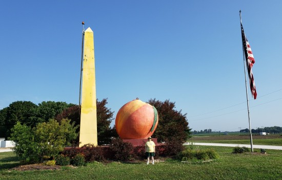 Peach and Obelisk!