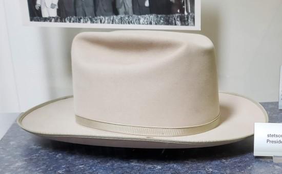 Stetson hat!