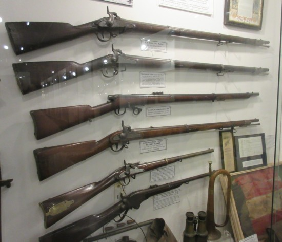 19th-century rifles!