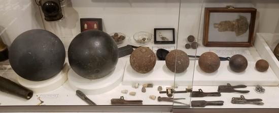 artillery balls!