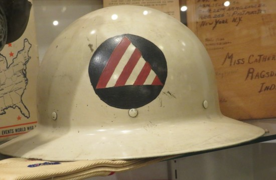 Civil Defense helmet!