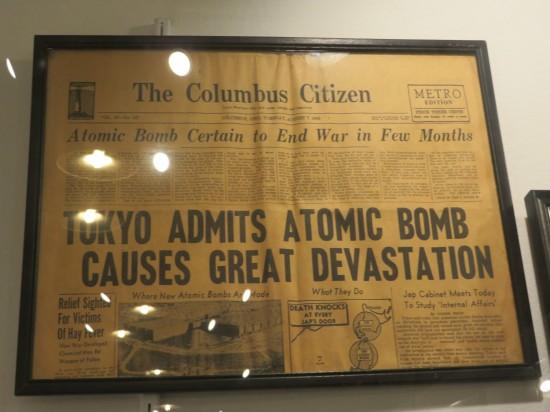 Columbus Bomb Paper!