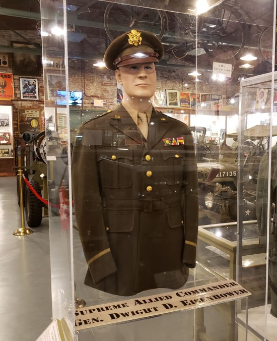 Eisenhower's uniform!
