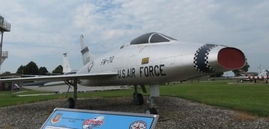 F-100C supersonic!