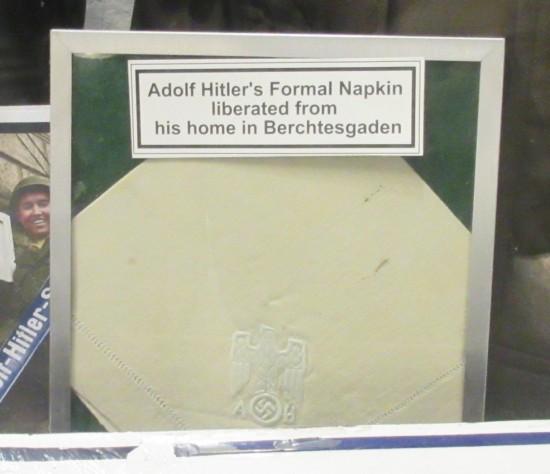 Hitler napkin!