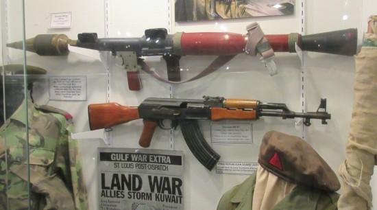 Iraq War armaments!