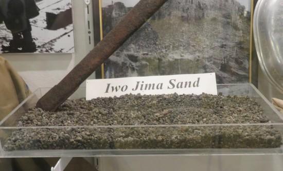 Iwo Jima sand!