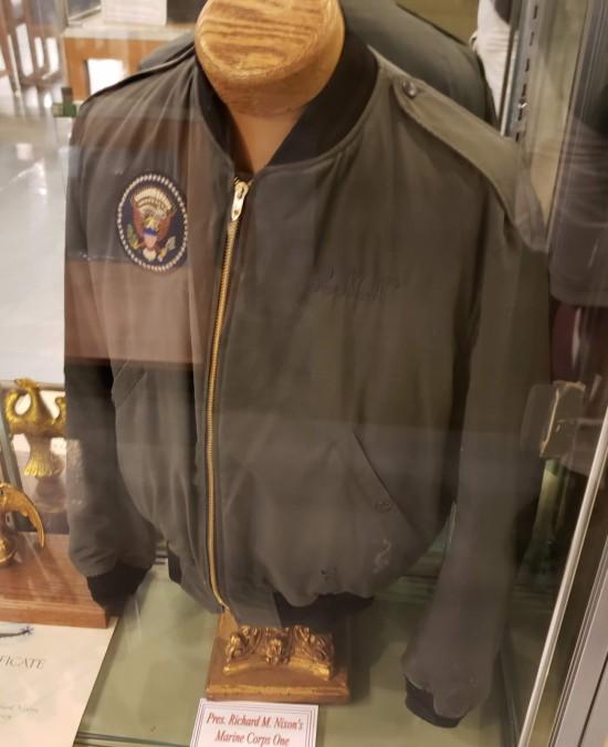 Nixon's Marine Corps One jacket!
