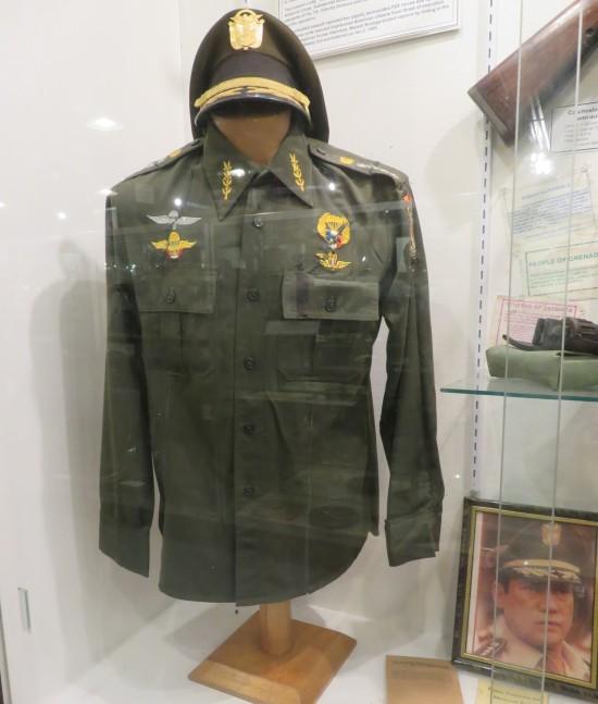 Noriega's uniform!