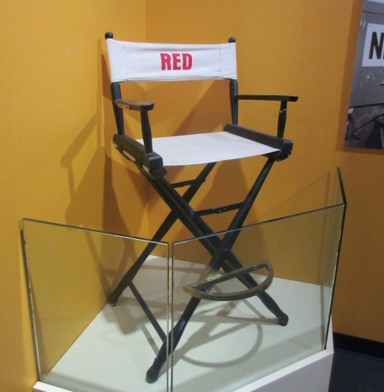 Red chair!