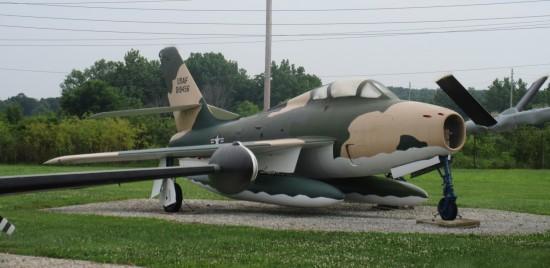 Republic F-84F!