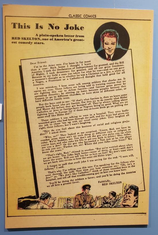 Skelton prejudice letter!