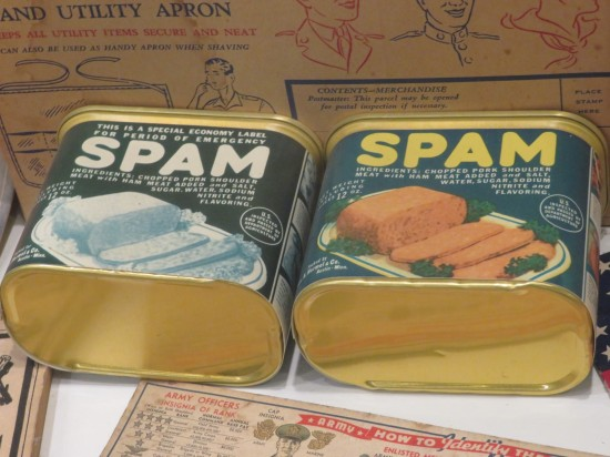 Spam! Spam!