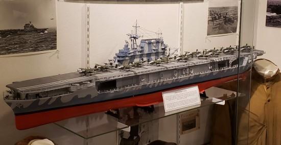 USS Hornet model!