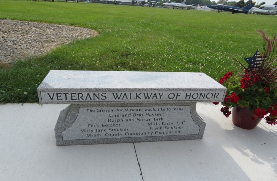 Veterans Walkway of Honor!