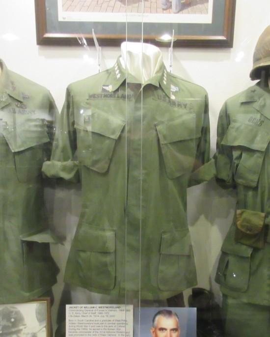 Westmoreland's uniform!