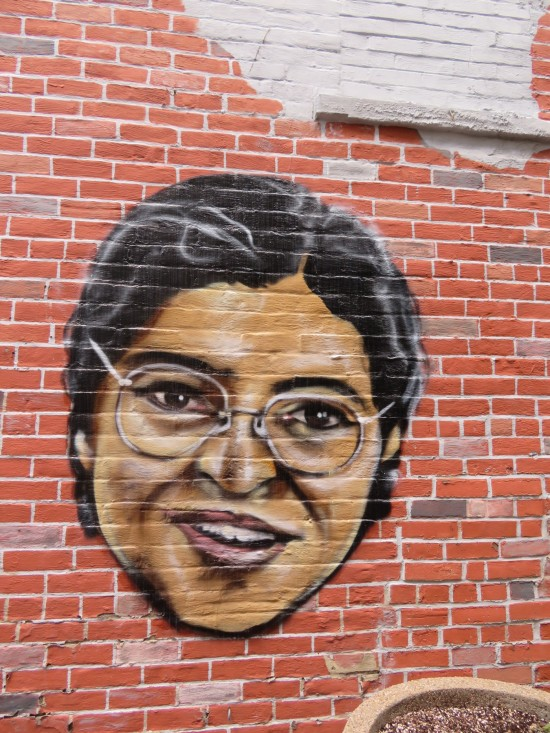 alley art Rosa Parks!