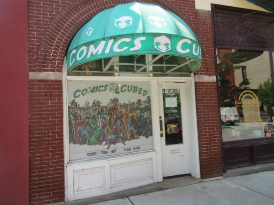 Comics Cubed!