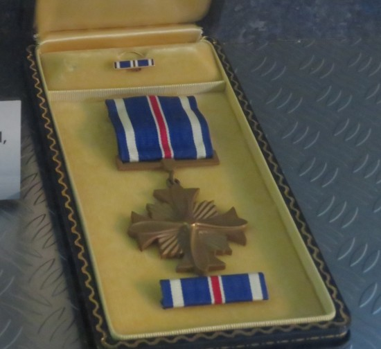 Distinguished Flying Cross!
