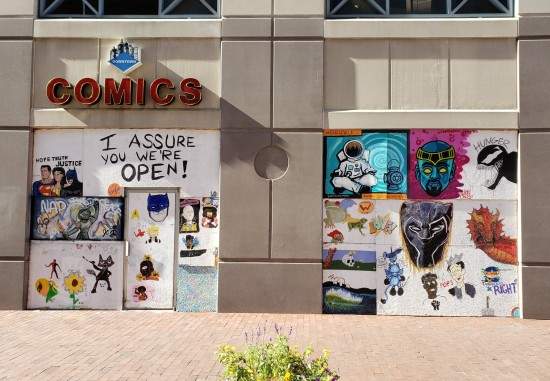 Downtown Comics!