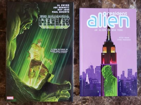 Hulk v. Alien!