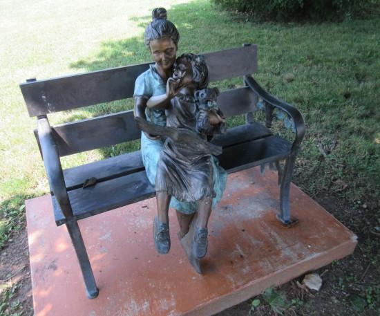 Kokomo Seniors statue!