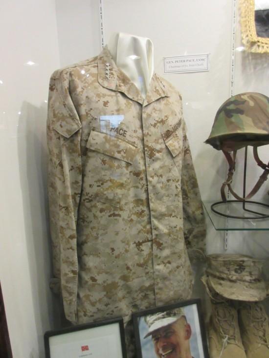 Pace uniform!