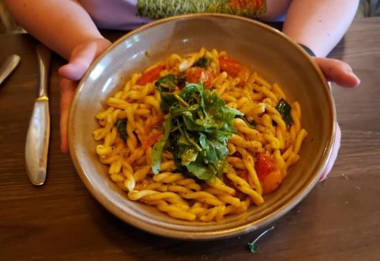 Tomato Cassarecce!