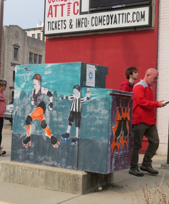 roller derby control box art!