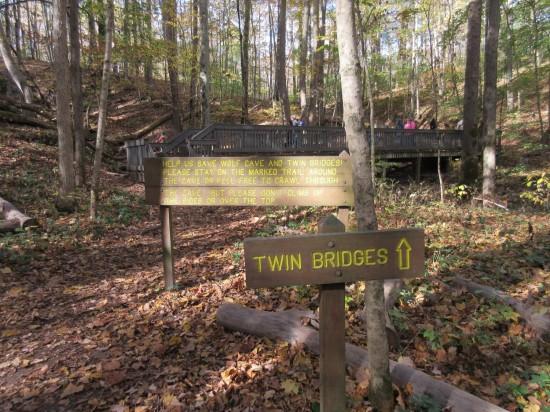 Twin Bridges!