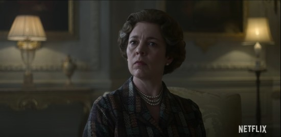 Olivia Colman as Queen Elizabeth!
