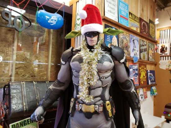 Santa Batman!